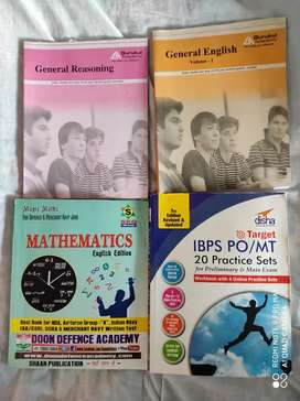 APTITUDE Books for Bank Exam PO/NDA/SSB - All in 1 Set, Pick any