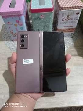 Samsung GaLaxy Z FOLD 2 Garansi Resmi SEIN panjang Like new 1