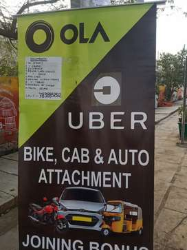 Attach your cab, bike & auto in ola and uber