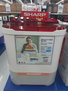 Sharp 10kg bisa cicilan tanpa Dp tanpa Admin