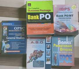 IBPS PO, ASO and OPSC preparatory books