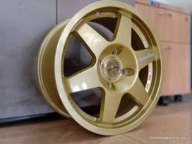 Velg Speedlane Gold Ring 15 pcd4×114,3 xenia avanza livina dll