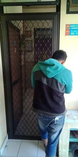 Pintu anti nyamuk, pintu kasa nyamuk, pintu kasa nyamuk expanda