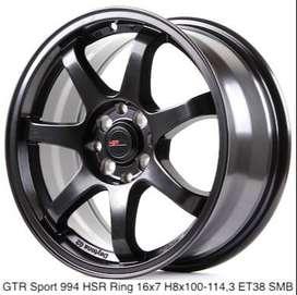 VELG MOBIL RECING GTR-Sport-994-HSR-Ring-16x7-H8x100-1143-ET38-Semi-Ma