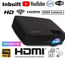 WATCH LIVE TV IPL A BIG SCREEN WIFI YOUTUBE SMART LED HD PROJECTOR