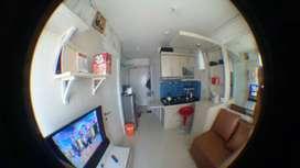 Jual cepat apartemen B.U lengkap dengan furnishnya