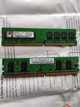 Kingston Ram & Hard Disk