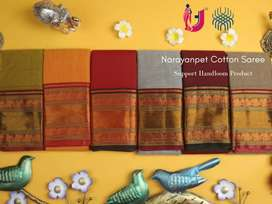 Narayanpet handloom cotton saree