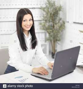 Female IT Assistant