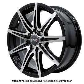 Velg Mobil KCCX Hsr Ring 16x65 ET42 buat Xenia-Avanza