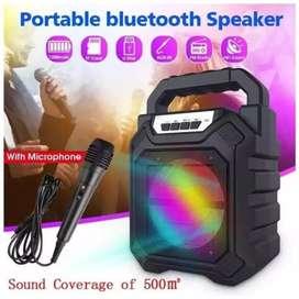 Speaker Bluetooth 668 plus microphone