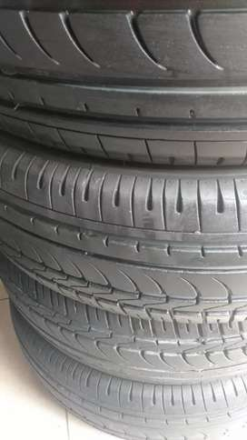 Dunlop slightly used tyre
