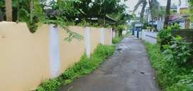 Aluva near uc college no flood effect 4.5cent house plot cent 7lakh