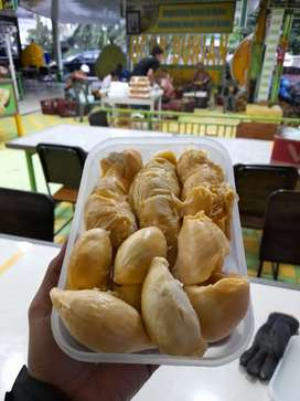 Durian kupas ucok durian medan