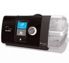 Resmed Auto cpap machine Airsens Auto S10 with mask and tube