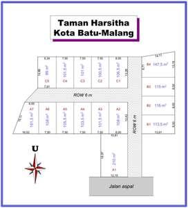 Kavling Taman Harsita, Standar Perumahan, Dekat UIN Malang