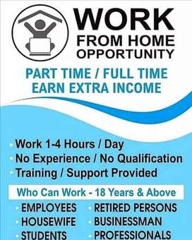 Looking for serious person To work part time/full time in sangrur.