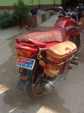 Hero honda achiever ,new single handed bike,