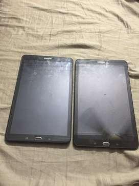 Two nos samsung galaxy tab e @ 10000/ each