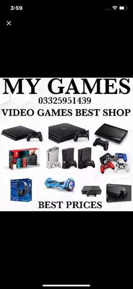 Brand new Ps4 shop in bahria MY Games