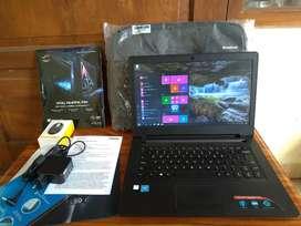 Laptop lenovo ideapad 110 seperti baru