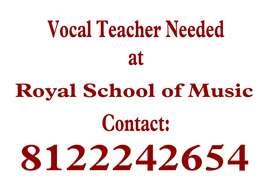 Vocal teacher needed