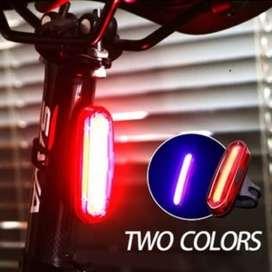 Lampu Sepeda Belakanh 2 Warna BIKE LIGHT Super Terang WJ-261