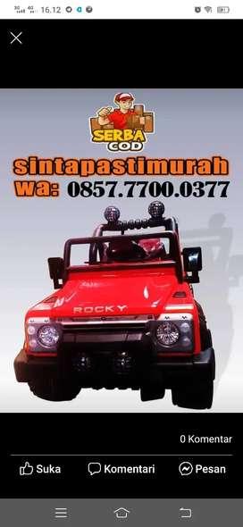 Mobil aki rocky jeep