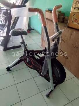 Sepeda statis platinum bike hitam oranye