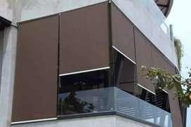 design gorden horizontal vertikal roll blind akurat 424