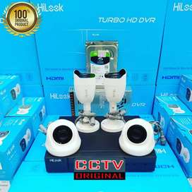 Melayani pemasangan paket kamera CCTV hilook HIKVISION COD
