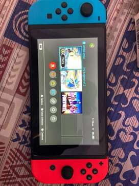 Nitendo Switch red and blue Theme