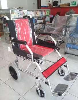 Kursi roda gea travelling ringan lipat