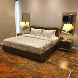 Short time available furnished one Bedroom Apartment Bahria town ph4