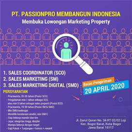 LOWONGAN MARKETING PROPERTY