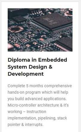 Best embedded systems training in Bangalore with 100% placements