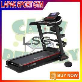 Alat Olahraga Fitness Treadmill Elektrik TL 123M Free Twister