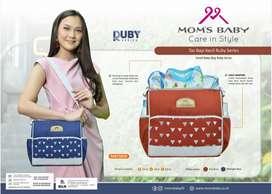 Moms Baby Tas Bayi Kecil Ruby Series MBT3042 Tas Perlengkapan Bayi