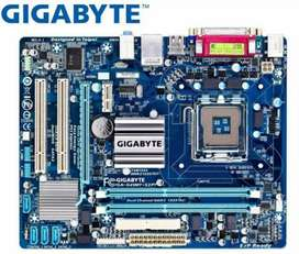 Gigabyte G41 Motherboard DDR 3 & DDR 2 supported and 4 GB DDR3 Ram