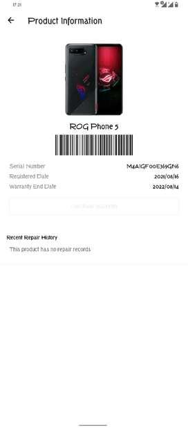 Asus Rog Phone 5 Perfeecctoo