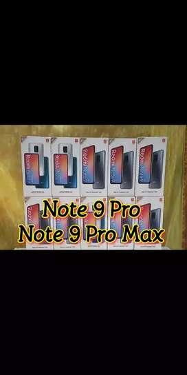 Mi note 9 pro & note 9 pro max