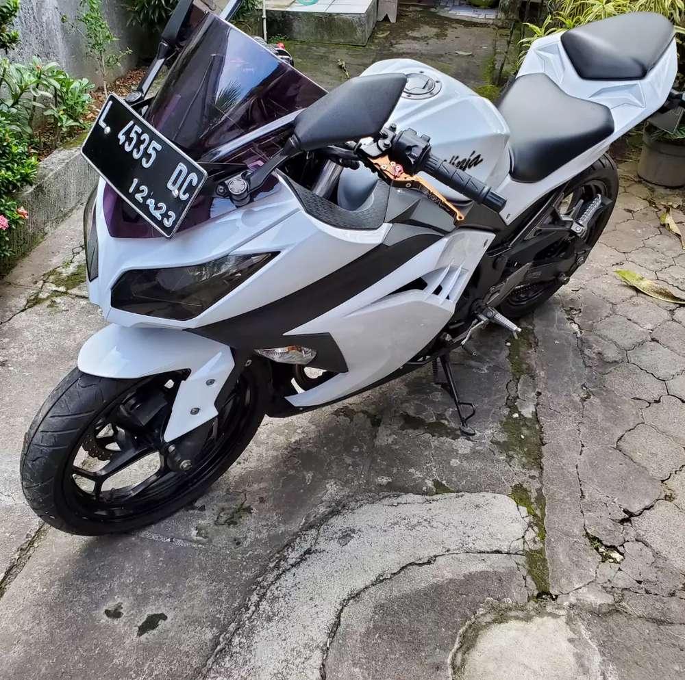 Kawasaki Ninja FI 250 Km rendah