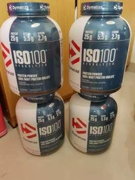 Whey Isolate Iso 100 Dymatize 100% Isolate
