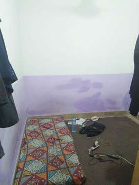 2 Seater Room with bathroom available for a Single Student / Person