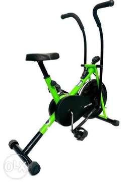 home gym air bike cycle
