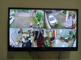 Paket 4 kamera bisa pantau via HP