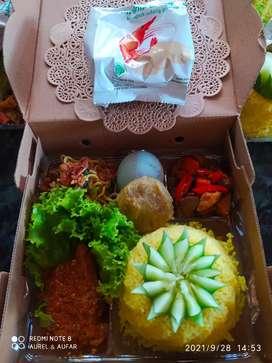 Nasi kotak & Tumpeng mini