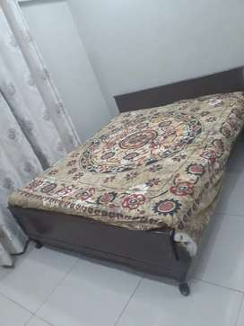 Origional Wooden Double Bed Polished without Matress