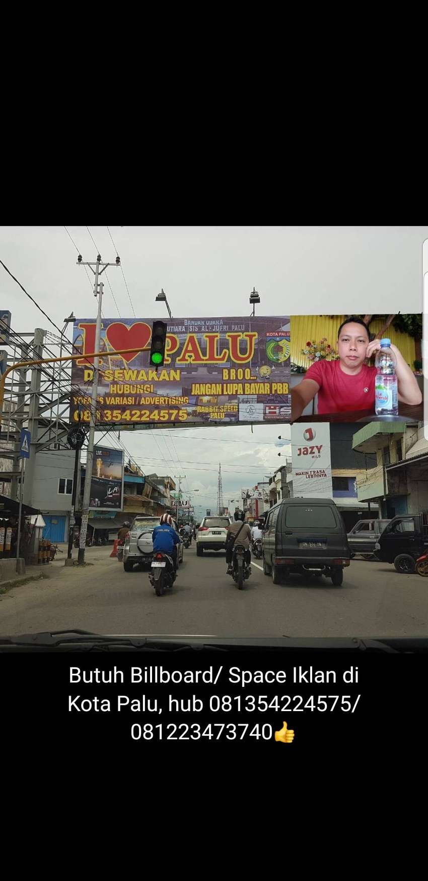 Menyewakan space iklan billboard 0