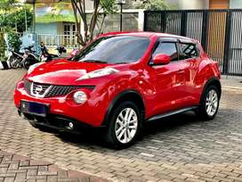 Juke RX 2011 Merah DP28jt  FULL ORISINIL pajak dan plat BARU GRESS